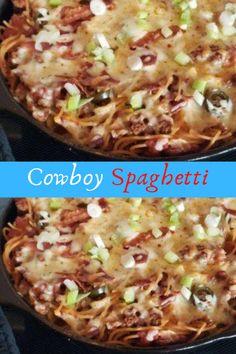 Cowboy Spaghetti #Cowboy #Spaghetti