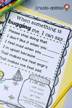 Bullying can be a problem for some elementary classrooms, but not anymore! Use this 76 page resource to help your and grade students learn that being a bully is NOT ok. With purchase you receive posters, reading passages, printable Anti Bullying Activities, Bullying Lessons, Counseling Activities, Therapy Activities, Leadership Activities, Elementary School Counseling, School Social Work, School Counselor, Elementary Schools