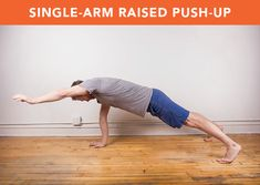 This humble bodyweight exercise is one of the most versatile and effective out there! Check out our list for beginners, bodyweight bosses, and everyone in between. List Of Bodyweight Exercises, Bodyweight Upper Body Workout, Abdominal Exercises, Easy Workouts, Fitness Workouts, Fitness Motivation, Heavy Bag Workout, Push Up Workout, Lose Body Fat