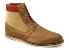 J Shoes, High Tops, High Top Sneakers, Wedges, Brown, Red, Fashion, Moda, Fashion Styles
