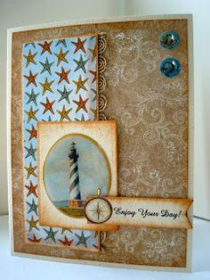 This masculine card was made with K & Co clear epoxy stickers and coordinating designer paper.