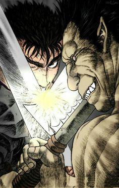 Gatsu vs. Zodd - Berserk