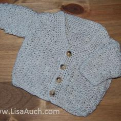 Free Easy crochet Patterns for Baby Cardigans and Baby Crochet sweater pattern or layette Sets. Nothing is as cute as baby wearing a beautiful handcrafted crochet cardigan or a cute crochet sweater. I just love these free patterns and you can see. Baby Boy Sweater, Baby Sweater Patterns, Crochet Cardigan Pattern, Baby Patterns, Crochet Patterns, Crochet Jacket, Sweater Set, Knitting Patterns, Crochet Bebe