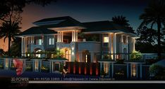 Inspiring Building Trends Bungalow Exterior Rendering New Bungalow Design Contemporary - Exterior Exterior Model Of Bungalow. Interior Design Philippines, Philippines House Design, Indian Home Design, Exterior Rendering, Exterior Design, 3d Rendering, Villa Design, Modern House Plans, Modern House Design
