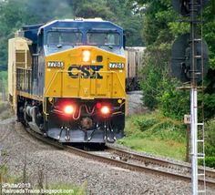 csx train in waycross, ga   ... Cordele Georgia Freight Train, CSX Railway East Bound to Waycross GA