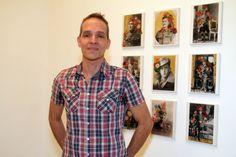 Fábio Carvalho na Artur Fidalgo Galeria #artrio #ciga #compartilhearte