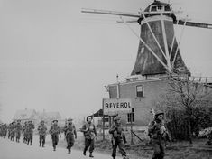 This is a picture of Canadian troops helping in the liberation of the Netherlands. This was the last area that Germany had and once pushed back would have to surrender.