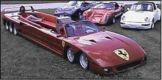 Ferrari convertible limo