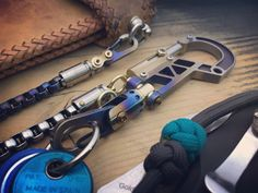The Quemao-II / Ti-Bolt Carabiner, Walletchain and Keychain / Burnt exhaust texture Wallet Chain, Exhausted, Hand Guns, Old School, How To Look Better, Old Things, Pure Products, Texture, Design