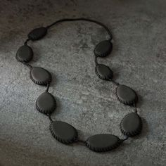 Tambour II Long Necklace - Urban Zen