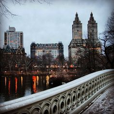 Central Park (the building in the middle is the Dakota), NYC by maris.rozenfelds, via Flickr