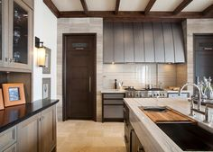The great thing about the kitchen actually is dependent upon its design. If you are really contemplating changing up your kitchen layout, you want some kitchen design suggestions to get you started… Kitchen Sink Sizes, Kitchen And Bath, New Kitchen, Stone Kitchen, Kitchen Ideas, Life Kitchen, Kitchen Hoods, Kitchen Decor, Best Kitchen Designs