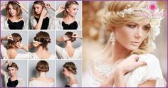 Wedding hairstyles for long, flowing hair - review, photos, videos