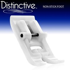 Amazon.com: Distinctive Non-Stick Sewing Machine Presser Foot - Fits All Low Shank Snap-On Singer*, Brother, Babylock, Viking (Husky Series), Euro-Pro, Janome, Kenmore, White, Juki, Bernina (Bernette Series), New Home, Necchi, Elna and More!: Arts, Crafts & Sewing