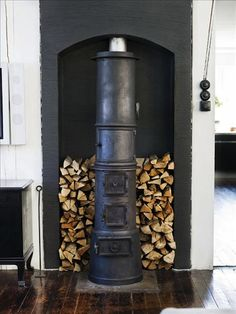 Love this stove....be careful with too much fire wood in the house. Insects will hatch out in your warm homes and invest with all kinds of little critters.