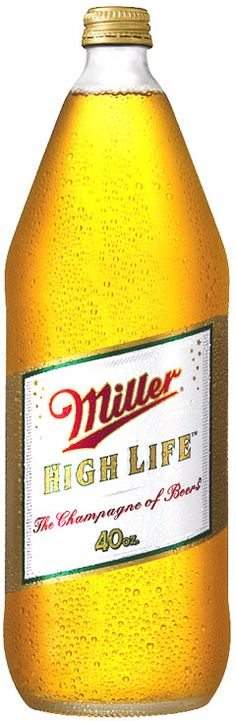 Don't hate.  Miller High Life is the most flavorful cheap beer (*although the flavor it does contain is mostly cereal).  Cooler than PBR by default.