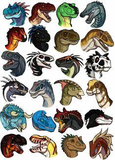 Dinosaur Headshot Commissions by CultmasterSleet Creature Drawings, Animal Drawings, Art Drawings, Dinosaur Sketch, Dinosaur Drawing, Creature Concept Art, Creature Design, Furry Art, Fantasy Wesen