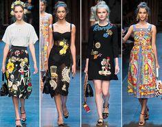 Dolce & Gabbana 2016 İlkbahar / Yaz koleksiyonunu tanıttı