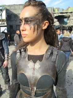 BTS- the 100- Lexa costume and makeup
