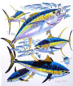 Yellowfin Run by Carey Chen