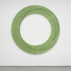 Robert Mangold | Ring Image H  executed in 2009  acrylic and pencil on canvas  203.2 x 203.2 cm