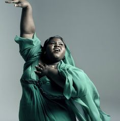Gabourey Sidibe LOVE this photo of her. Such a gorgeous lady.
