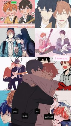 Anime Love, Cute Anime Pics, Cute Anime Couples, Anime Guys, Otaku Anime, Manga Anime, Animes Wallpapers, Cute Wallpapers, Animé Fan Art