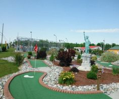 84 best Fun in MI images on Pinterest   Michigan  Detroit and Exhibit Arzo Sports   Fun Park Alpena MI All new family fun center featuring  Michigan s longest Go kart Track  Sky high Bungee  beautiful 18 holes Mini  Golf