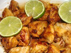 Poulet au citron vert à la plancha Batch Cooking, Cooking Time, Cooking Recipes, Starters Menu, Bbq Party, Best Dishes, Bbq Grill, Casserole Dishes, No Cook Meals