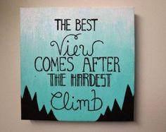 canvas quote – Etsy