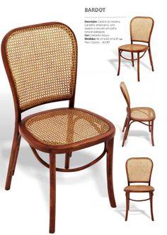 Stof Lar Decorações - Móveis em Madeira de Demolição: -Cadeira Modelo BARDOT