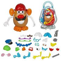 classic games: mr. potato head, jacks, tea sets, candy land...not everything has to be electronic bells and whistles!