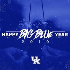 Image may contain: text University Of Kentucky, Kentucky Wildcats, Basketball Floor, Go Big Blue, Uk Football, Happy Year, Cover Photos, Neon Signs, Facebook