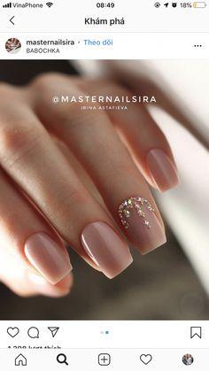 Amazing Nail Polish Color Trends You'll Want To Ha Shellac Nails, Pink Nails, My Nails, Manicure, Nail Polish, Acrylic Nails Pastel, Best Acrylic Nails, Acrylic Nail Designs, Acrylic Nail Shapes