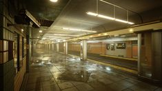 Hi there,  i am currently working on my portfolio.    http://www.marcelgonzales.com    for that i am working on a subway station in unreal engine 4.