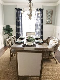 transitional dining room - beautiful homes of instagram