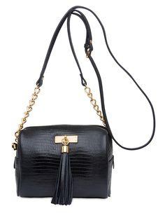 Cross Bag Lezard - Corello - Preto - Shop2gether