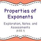 Students Explore and Discover the properties of exponents