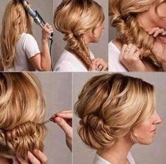 Astounding 1000 Images About How To Hairstyles On Pinterest Hairstyles Hairstyles For Women Draintrainus