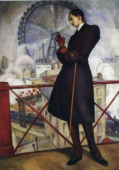 Diego Rivera, Retrato de Adolfo Best Maugard (Portrait of Adolfo Best Maugard), 1913