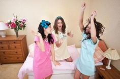 Girl Slumber Party Ideas