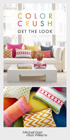 Creative Halloween Costumes - The Best Way To Be Artistic Over A Budget Quick Tip: Turn Timeless And Comfortable Seating Into A Work Of Art With A Great Pillow Mix. Entirely Practical: Switch Out Pillows Anytime For A Fresh Look. Great Neutral Pieces Like Cheap Home Decor, Diy Home Decor, Home Interior, Interior Design, Living Room Decor, Bedroom Decor, My New Room, Home Remodeling, Family Room
