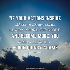 Lead forward and inspire everyone around you!