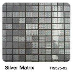 Raffi Gl Wild Silver Tile Mosaics
