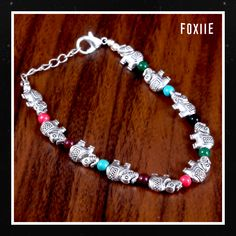 ✨ Diwali Sale ✨ Buy Elephant Design Colorful Beads Bracelet at 🤩 from Foxiie Trends. 🛒 Buy Now ➡️ Whatsapp / Call: ◾️ We Accept Bulk Orders Fashion Jewellery Online Shopping, Jewellery Sale, Diwali Sale, Indian Wedding Jewelry, Elephant Design, Oxidised Jewellery, Imitation Jewelry, Stylish Jewelry, Fashion Earrings