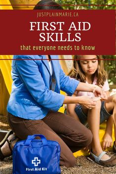 There are so many things to learn but these five first aid skills should be top of the list for everyone in your family! Safety And First Aid, First Aid Tips, What Is Bug, Bug Out Location, Grilling Gifts, Proper Diet, Emergency Preparedness, Survival, Acupressure