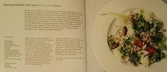 Perle-pære salat med parma og parmesan