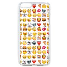 Emoji iPhone 6 Case ($12) ❤ liked on Polyvore featuring accessories, tech accessories, phone, cases and phone cases