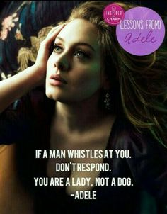 #feminist #feminism #adele #power #woman #youarenotadog