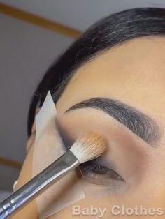 Edgy Makeup, Glamour Makeup, Makeup Eye Looks, Beautiful Eye Makeup, Eye Makeup Art, Smokey Eye Makeup, Skin Makeup, Eyeshadow Makeup, Nyx Eyeliner